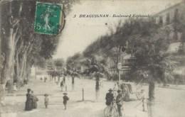 83 - DRAGUIGNAN - Var - Boulevard Esplanade - Draguignan