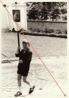 Photo Fête Dieu Religieuse à Gentinnes Entité De Chastres Brabant Wallon Curé 15 X 10,5cm - Lieux