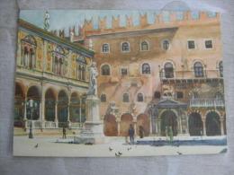 Italia   VERONA - Piazza Dei Signori -  G. Zancolli  D111021 - Verona