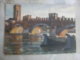 Italia   VERONA - Ponte Scaligero  -  G. Zancolli  D111024 - Verona