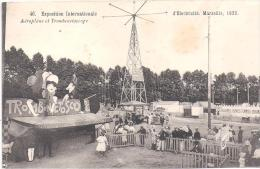MARSEILLE -  Exposition Internationale D'Electricité - Aéroplane Et Trombinétoscope - Marseille