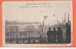 75 PARIS  Galeries Lafayettes Atterrissage De Védrines - Paris (09)