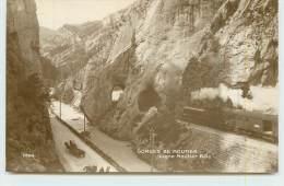 CHEMINS DE FER SUISSES  - Gorges De Moutier, Ligne Moutier Bâle. - Trains