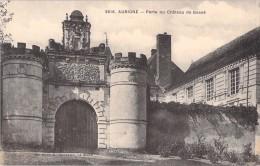 72 AUBIGNE PORTE DU CHATEAU DE BOSSE - France