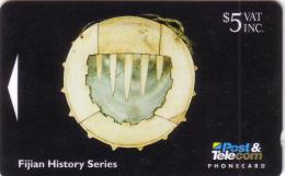FIDJI FIJIAN HISTORY  ARTIFACTS CIVAVONOVONO 5$ UT N° 06FJC..... - Fidji