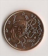 FRANCE - 5 EUROCENT 1999 / NEUVE - France