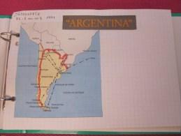 CIRCUIT EN Argentine :photos,cartes Postales,hôtel ,billet De Voyage ,étiquette Vin, Excursion Maritime ,plan Réseau> - World
