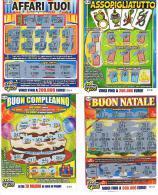 ITALIA - GRATTA E VINCI (LOTTERY) - LOT OF 8 DIFFERENT TICKETS OF EURO 3,00 (SEE DESCRIPTION) - Billetes De Lotería