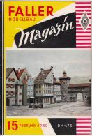 FALLER MODELLBAU Magazin Heft 15 Februar 1960 - Books And Magazines