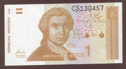 CROATIA LOT :  1 + 5 DINARA 1991  UNC - Croatia