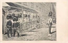 EINST KÜNSTLER DEUSTCHLAND KRIEG 1870 GUERRE ILLUSTRATEUR ALLEMAND 1900 - Humor