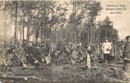 MILITAIRES PRISONNIERS EN ALLEMAGNE TRAVAUX FORCES FRANZÖSISCHE KRIEGS-GEFANGENE IN WAHN 1914 GUERRE KRIEG - Guerre 1914-18
