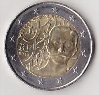 2 Euro Commémorative UNC France 2013 Pierre De Coubertin - France