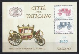 FILATELIA - VATICANO 1985 - Yvert #H8 - MNH ** - Exposiciones Filatélicas