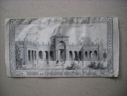 Piccolo Arazzo In Seta MILANO 1881. Ricordo Dell´Esposizione Industriale Italiana - Autres Collections