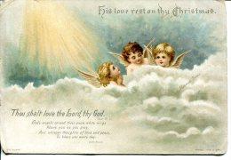 "Image Pieuse - Chromo ""his Love Rest On Thy Christmas"" (the Mizpar) - Andere"