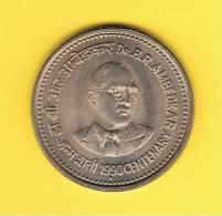 INDIA -  1 Rupia 1990 SC   KM85  Dr. Ambedkar - India