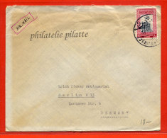 JORDANIE LETTRE DE 1964 DE JERUSALEM POUR BERLIN ALLEMAGNE - Jordan