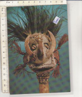 PO1994C# NUOVA GUINEA - MASCHERA RITUALE - ARTE DEL SEPIK - MASCHERE COSTUMI TIPICI   No VG - Papua Nuova Guinea