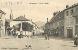 90 GIROMAGNY - PLACE DE LA MAIRIE - Giromagny