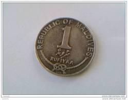 1 RUFIYAA - 1990 - MALDIVE - - Maldives