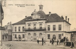 90 GIROMAGNY - LA MAIRIE ( CHEVAL ) - Giromagny