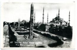 Istanbul,Constantinopel,Sultan Ahmet Meydani,Hippodrome,1935 - Türkei