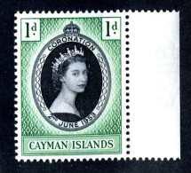 6247x)  Cayman 1953  ~ SG # 162  Mnh**~ Offers Welcome! - Caimán (Islas)