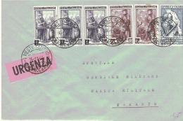 1955 £ 60 Amerigo Vespucci Con Italia Al Lavoro Su Urgenza - 6. 1946-.. Repubblica