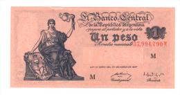 [NC] ARGENTINA - 1 PESO LEY 12962 - 27 MARZO 1947 - Argentina