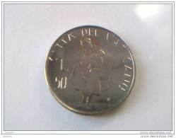 50 Lire - IOANNES PAULUS II - 1981 - VATICAN - Superbe - - Vatican