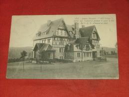 """SPA   -  Avenue Elisabeth  - """" Hill Cottage """" , Habité Par Ludendorf  Du G.Q.G. Allemand En 1918 - Spa"""