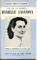 "DANIELLE CASANOVA ""une Vie, Un Exemple"" - Unclassified"