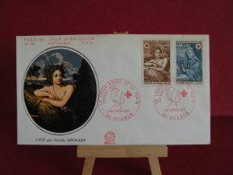 FDC, La Croix Rouge Et La Poste -  84 Avignon - 13.12.1969 - 1er Jour - - FDC