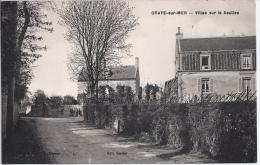 CPA DPT 14 GRAYE SUR MER EN 1931 VILLAS SUR LA SEULLES - France