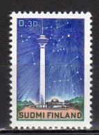 (SA0201) FINLAND, 1971 (Näsinneula Tower, Tampere). Mi # 692. MNH** Stamp - Ongebruikt