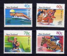 New Zealand - 1988 - Health Issue/Olympic Games - MNH - Nouvelle-Zélande
