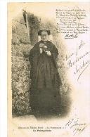 22- LA PAIMPOLAISE - Chanson De Théodore BOTREL - Cpa  Dnd  Voyagée 1903 - Paimpol