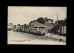 14 - GRANDCAMP-LES-BAINS - Arrivée Du Tramway - Other Municipalities