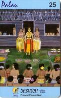 PALAU DANSEUSES SEINS NUS CEREMONIE MARIGE DEBUSH 25 $ UT RARE - Palau