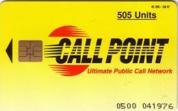 PAKISTAN CALL POINT 09.97 505U NUMEROTEE UT - Pakistan