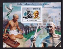 MOZAMBIQUE  MAHATMA GANDHI  (not Dentate) - Mahatma Gandhi