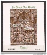 ES3595-LA890TARES.España. Spain  .Espagne LA SEO DE SAN SALVADOR ZARAGOZA. 1998.( Ed.3595**)LUJO - Escultura