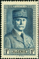 ALGERIA, COLONIA FRANCESE, FRENCH COLONY, 1941, FRANCOBOLLO NUOVO (MLH*) - Algeria (1924-1962)