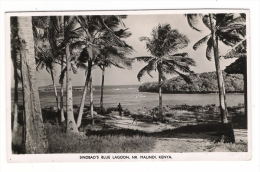 KENYA  /  SINDBAD ' S  BLUE  LAGOON , NR.  MALINDI.  /  Edit.  HOTEL  SINDBAD  ( Beau Timbre Du TANGANYIKA , En 1957 ) - Kenya