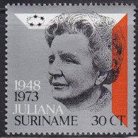 2339. Suriname, 1973, Queen Juliana, MH (*) - Surinam ... - 1975