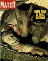 Paris Match N°1024 - NOTRE DAME DE PARIS INCONNUE - 21 Décembre 1968 - Algemene Informatie