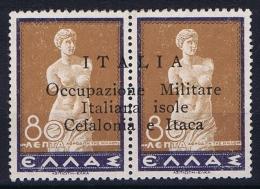 Italia/Occupazione Militare Isole Cefalonia E Itaca, 1941 Sa 16 MH/* - 9. Besetzung 2. WK (Italien)