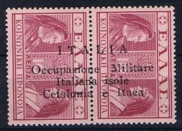 Italia/Occupazione Militare Isole Cefalonia E Itaca, 1941 Sa 30  1 X  MH/* + 1 X MNH/** - 9. Besetzung 2. WK (Italien)