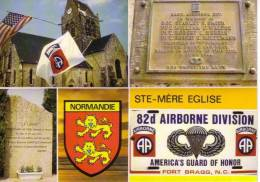 50 - SAINTE MERE EGLISE   - Hommage à La 82ème Airborne Division Que Libéra La Ville La Nuit 5-6/06/1944  N0  C1289 - Guerre 1939-45